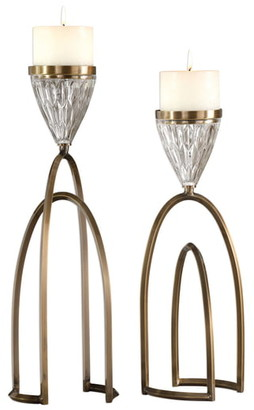 Uttermost Carma Set of 2 Candleholders