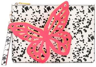 Sophia Webster 3D butterfly detail clutch