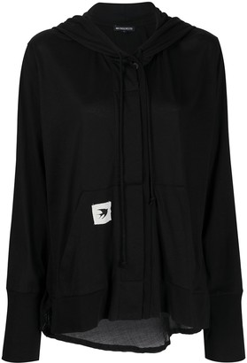 Ann Demeulemeester Button-Up Cotton Hoodie