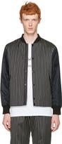 Rag & Bone Black Irving Bomber Jacket