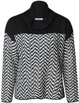 Dex Chevron Turtleneck Sweater