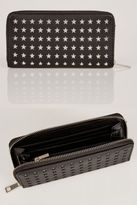 Yours Clothing YoursClothing Womens Star Cut Out Zip Close Purse Multiple Compartments