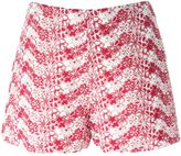 Giamba floral embroidered shorts