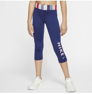 Nike One Big Girls Training Tights