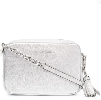 MICHAEL Michael Kors Metallic Leather Cross Body Bag