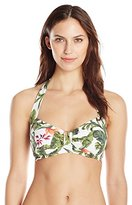 Seafolly Women's Jungle DD Cup Halter Bikini Top