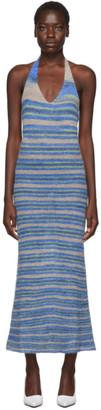 Jacquemus Blue La Robe Tropea Longue Dress