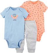 Carter's Little Baby Basics 3-pc. Pant Set Baby Boys