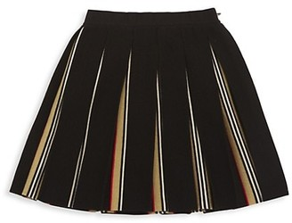 Burberry Little Girl's & Girl's Amelia Pleated Skirt