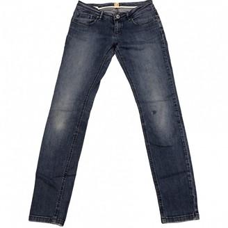 BOSS ORANGE \N Blue Cotton - elasthane Jeans for Women