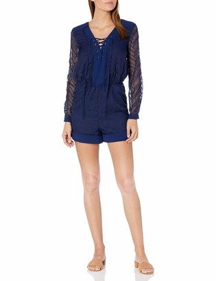 Adelyn Rae Women's Embroidered Romper