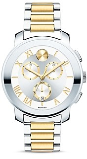 Movado Bold Luxe Two Tone Chronograph, 40mm