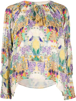 CHUFY Inka print blouse