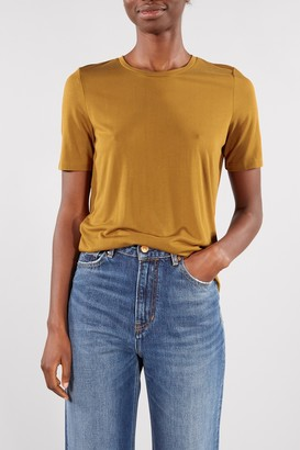 Selected Bronze Brown Ella Tee - XSMALL