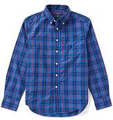 Ralph Lauren Big Boys 8-20 Plaid Woven Shirt