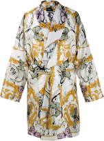 Versace Le Jardin Silk Robe