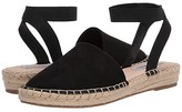 Steve Madden Merlene Espadrille Flat (Black) Women's Shoes