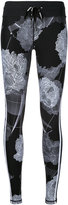 The Upside floral print fitness leggings - women - Nylon - XXS