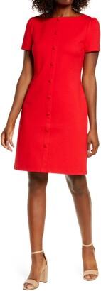 1901 Button Front Knit Dress