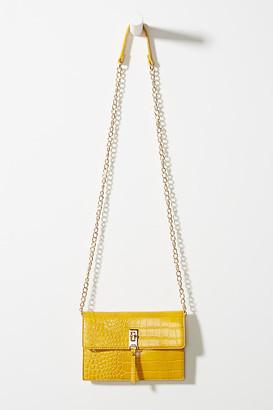 Sondra Roberts Gigi Crossbody Bag By in Yellow Size ALL