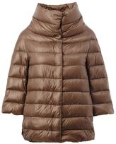 Herno cropped sleeve padded jacket - women - Cotton/Feather Down/Polyamide/Goose Down - 40