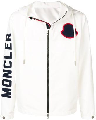 Moncler Logo printed hoodie