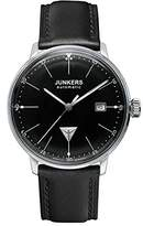 Junkers Men's Automatic Watch Bauhaus Automatik 60502 with Leather Strap
