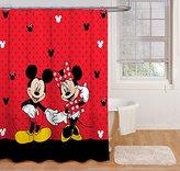 "Disney 70"" x 72"" Fabric Shower Curtain"