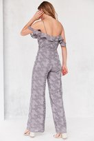Oh My Love Lathyrus Cold-Shoulder Jumpsuit