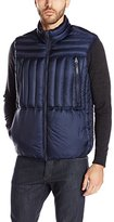 French Connection Men's Bordelo Wool-Lined Puffer Vest