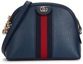Gucci Ophidia GG Navy Leather Shoulder Bag