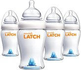 Munchkin LATCH Bottle - 8 oz - 4 ct