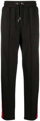 Les Hommes Racer Stripe Track Trousers