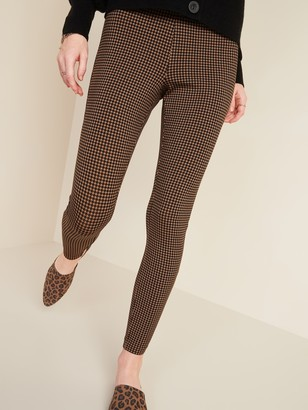 Old Navy High-Waisted Stevie Printed Ponte-Knit Pants