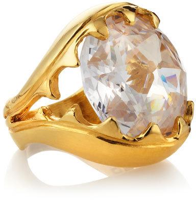 Devon Leigh Lucky Star CZ Ring