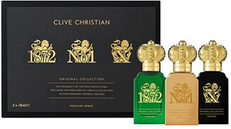 Clive Christian Original Collection Travelers Set Feminine, 3 x 0.3 oz./ 10 mL