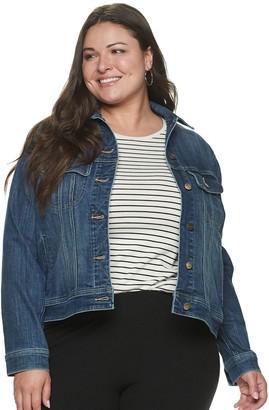 Lee Plus Size Regular Fit Legendary Jean Jacket