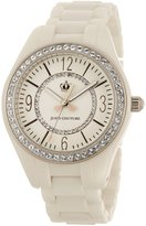 Juicy Couture 1900642 40mm Ceramic Case White Ceramic Mineral Women's Watch