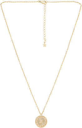 Five and Two jewelry Morgan Gold Plating Necklace