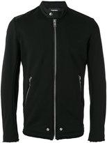 Diesel banded collar jacket - men - Cotton/Nylon/Polyurethane - S