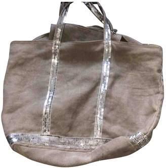 Vanessa Bruno Cabas Grey Linen Handbags