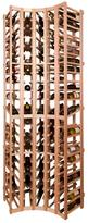 Vinotemp Curved Corner Wine Rack Module - 105 Bottles