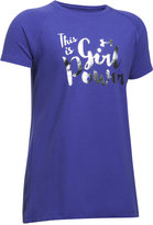 Under Armour This Is Girl Power Graphic-Print T-Shirt, Big Girls (7-16)