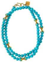 Ashley Pittman Roho Turquoise Bead Necklace