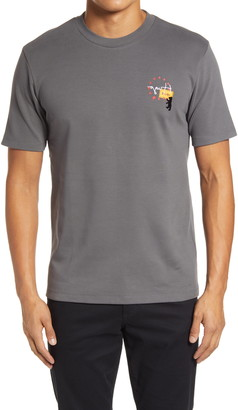 HUGO BOSS Dunity Embroidered Graphic Tee