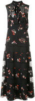 RED Valentino sheer floral dress