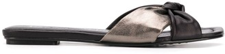 Pedro Garcia Kieran knot detail sandals
