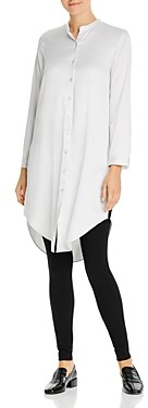 Eileen Fisher Button-Down Tunic Top