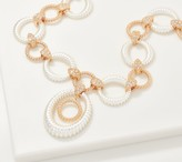 Grace Kelly Collection Two-Tone Interlock Necklace