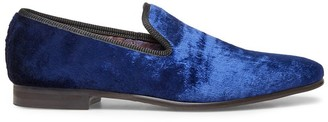 Steve Madden Crushed Blue Velvet